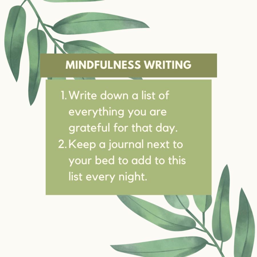 Mindfulness Writing