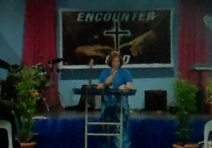Preaching the Word of God in Tacloban , Philippines - International Mission Trip
