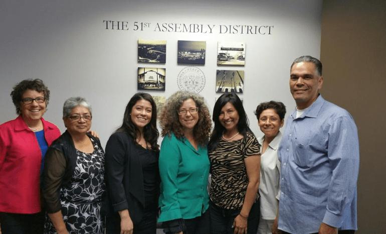 Visits with California State Legislators