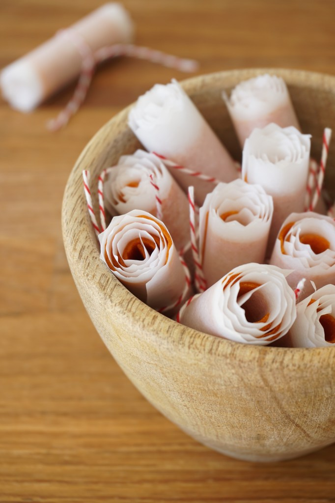 apricot + ginger roll ups