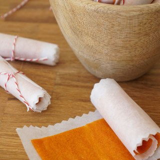 Apricot and Ginger Fruit Roll-Ups {AIP, GAPS, SCD, Paleo}