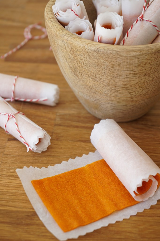 apricot & ginger roll ups