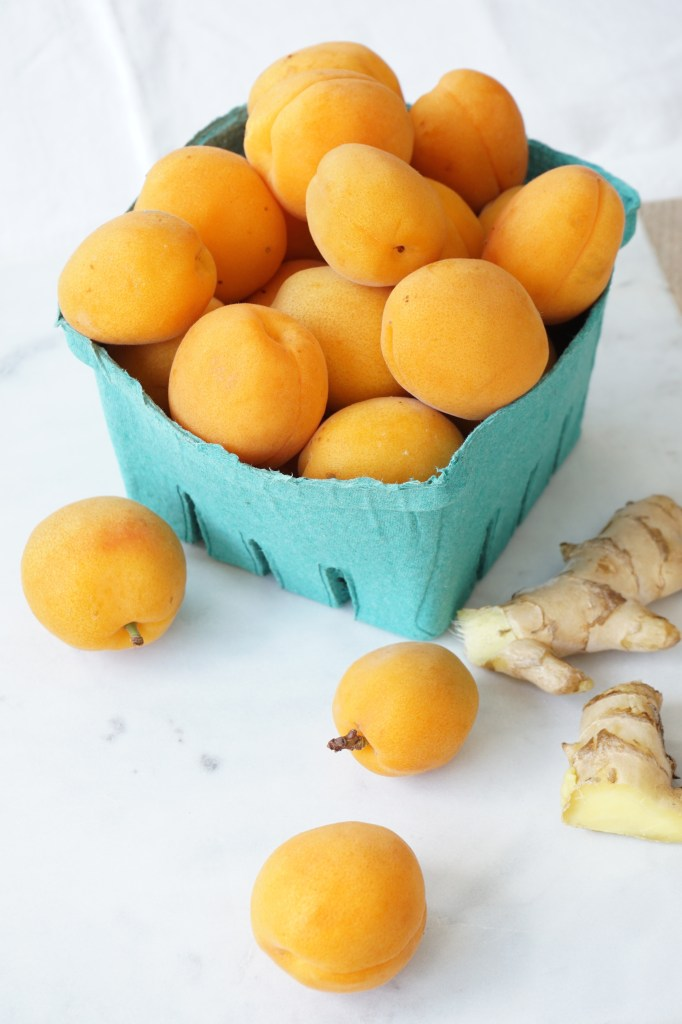 apricots and ginger