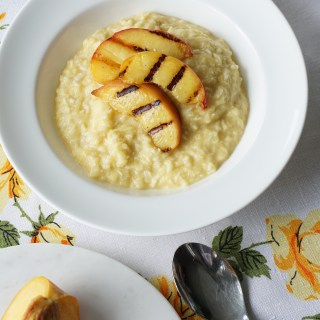 Peach and Ginger 'Oatmeal' {AIP, GAPS, SCD, Paleo}