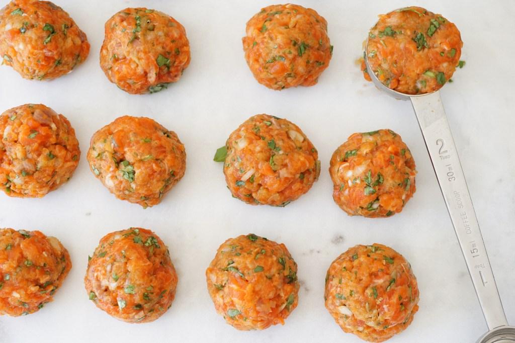 salmon fishballs
