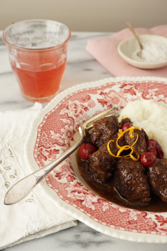 beef stew with orange and cranberries [AIP]