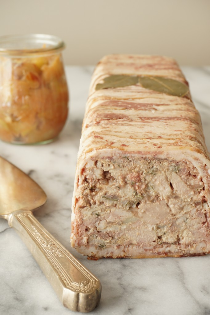 Pork and Chicken Liver Terrine with Spiced Apple Compote | Healing Family Eats