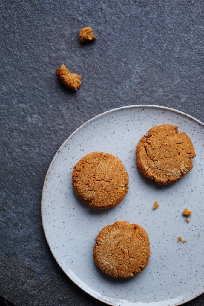 sweet potato, coconut, vanilla cookies
