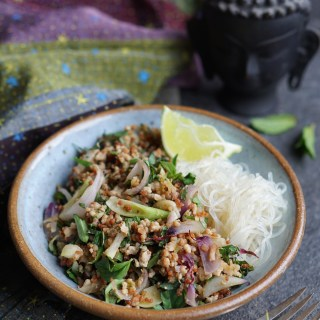 Thai-Inspired Pork Salad {AIP, GAPS, SCD, Paleo}