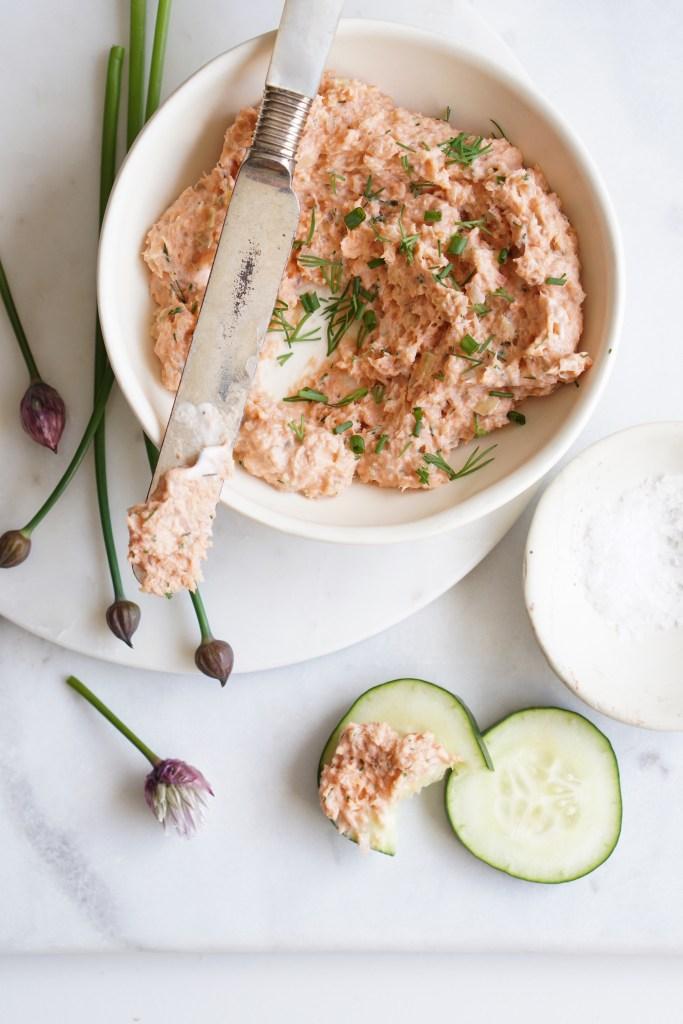 Salmon and Leek Pate {HFE}