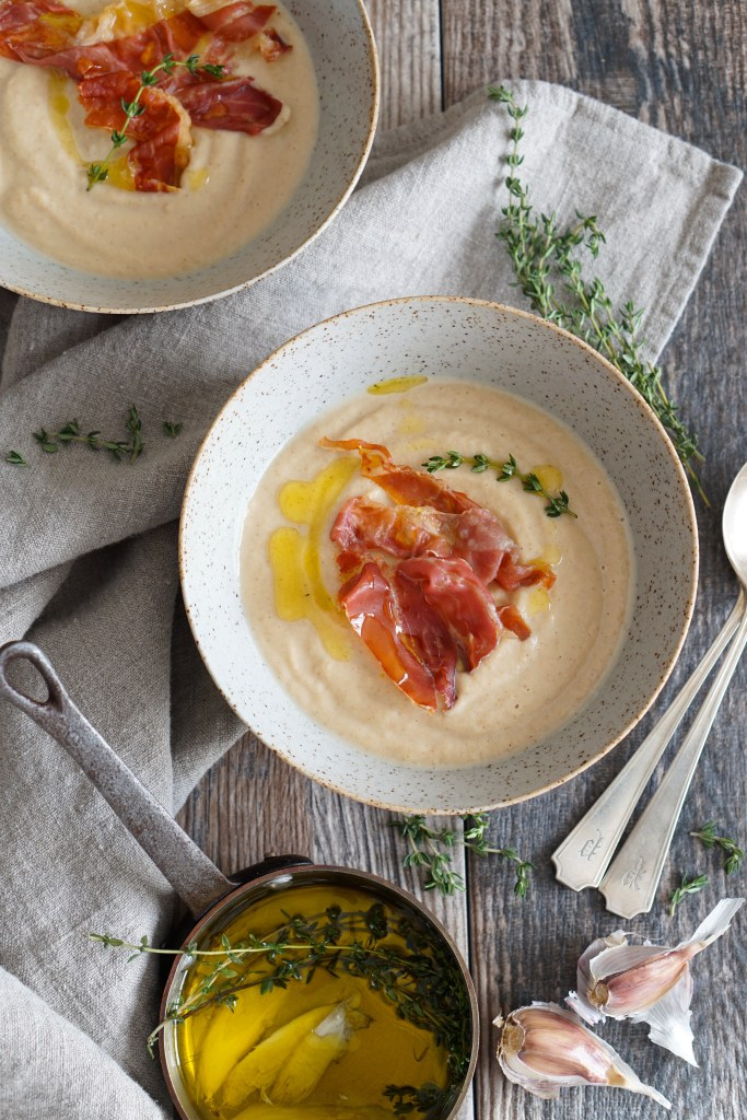 Roasted Cauli Soup {AIP}