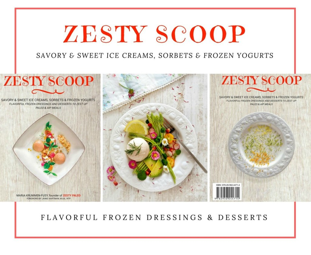 Zesty Scoop Cookbook