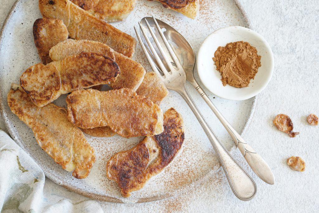 banana cinnamon fritters (AIP)