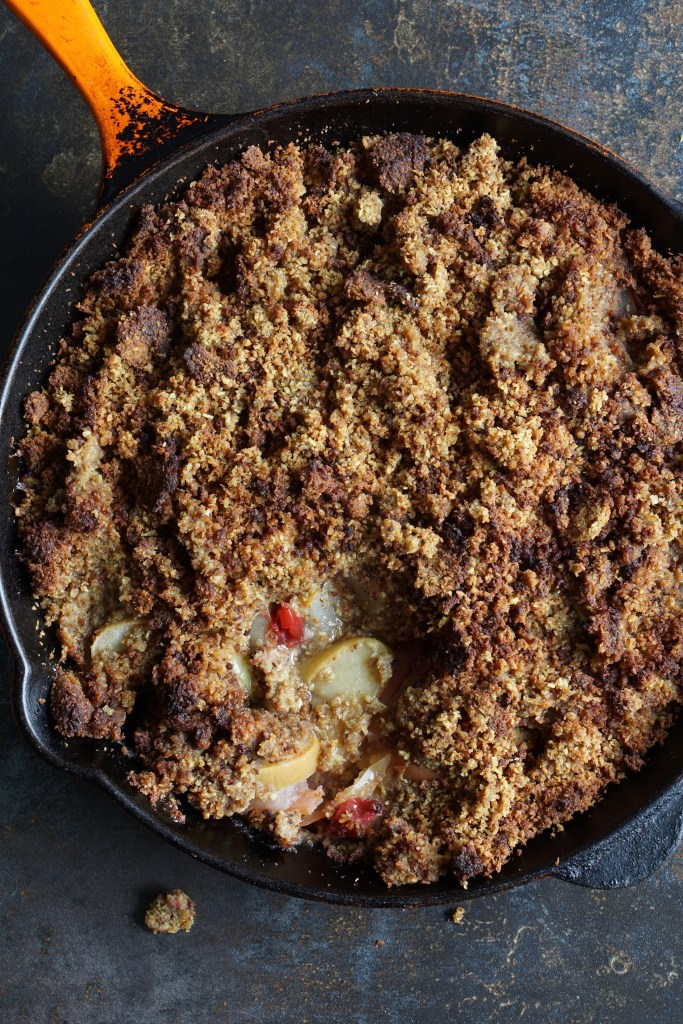 AIP Spiced Fruit Crumble - Kate Jay - thyroid refresh