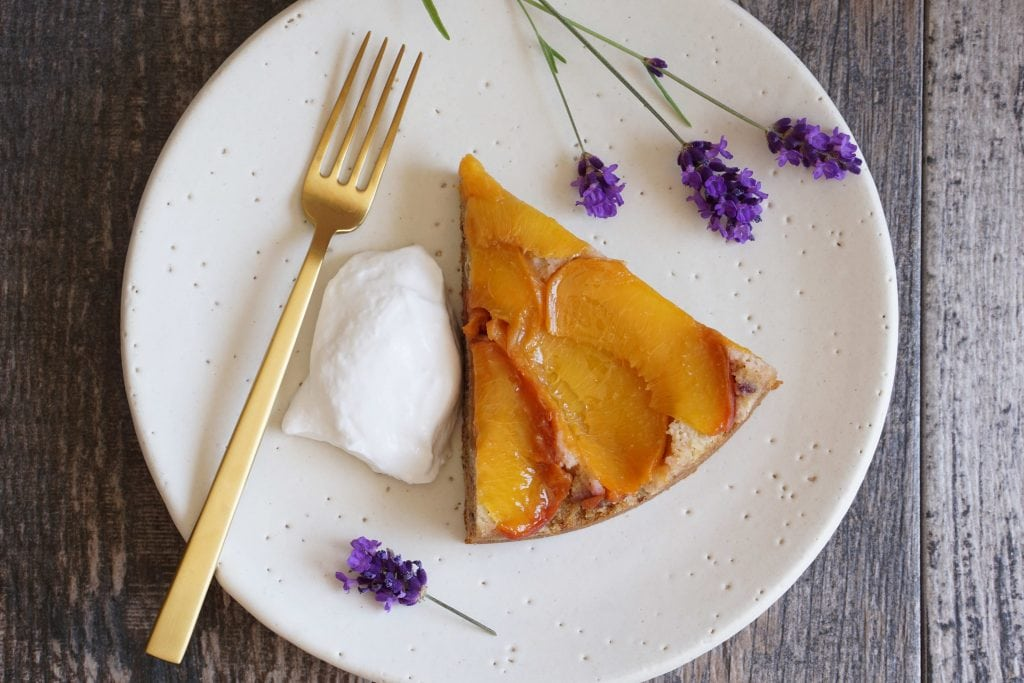 AIP Peach and Lavender Cake [AIP]