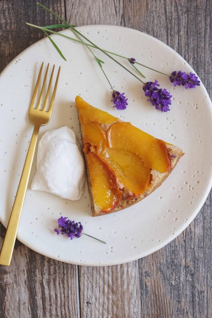AIP Peach and Lavender Cake {HFE}