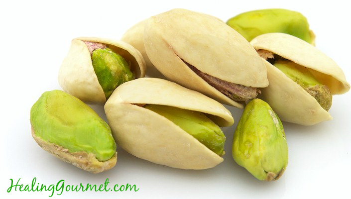 heart healthy pistachios