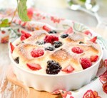 Raspberry Custards