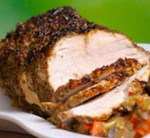 Loin of Pork with Fennel and Garlic