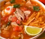 """Slow Cooker Chicken """"Tortilla"""" Soup"""