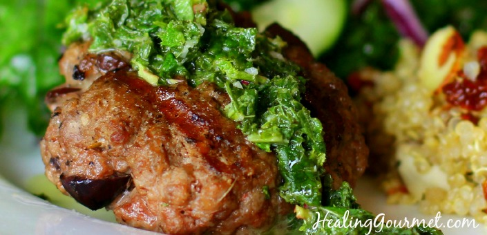 healthy lamb burgers recipe