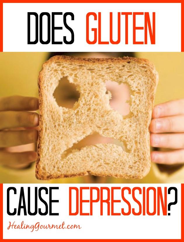 Does gluten cause depression?