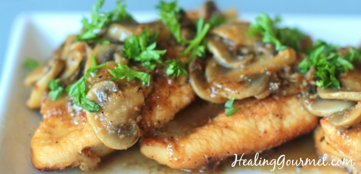 Paleo Chicken Marsala Low Carb Gluten Free Instant Pot Stovetop Options