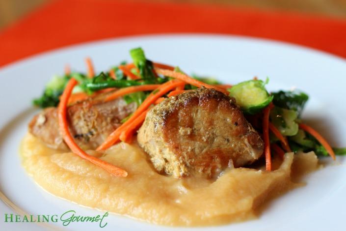 A super simple recipe for decadent pork sirloin roast!