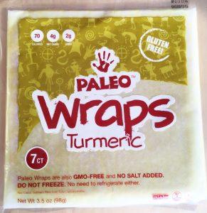 Paleo Wraps Turmeric