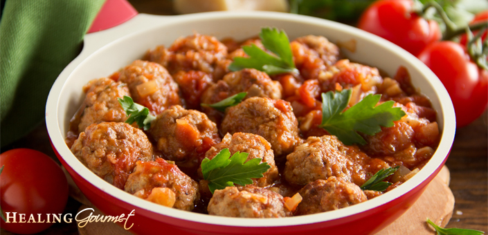"Discover the ""secret ingredient"" for creating perfect Paleo Meatballs!"