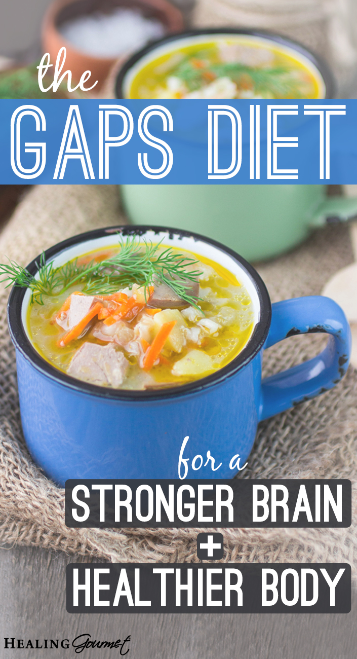 Learn how you can heal your body, rebuild your brain and fix your digestion with the GAPS diet.