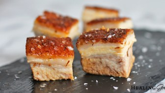 a melt in your mouth pork belly in 75% less time