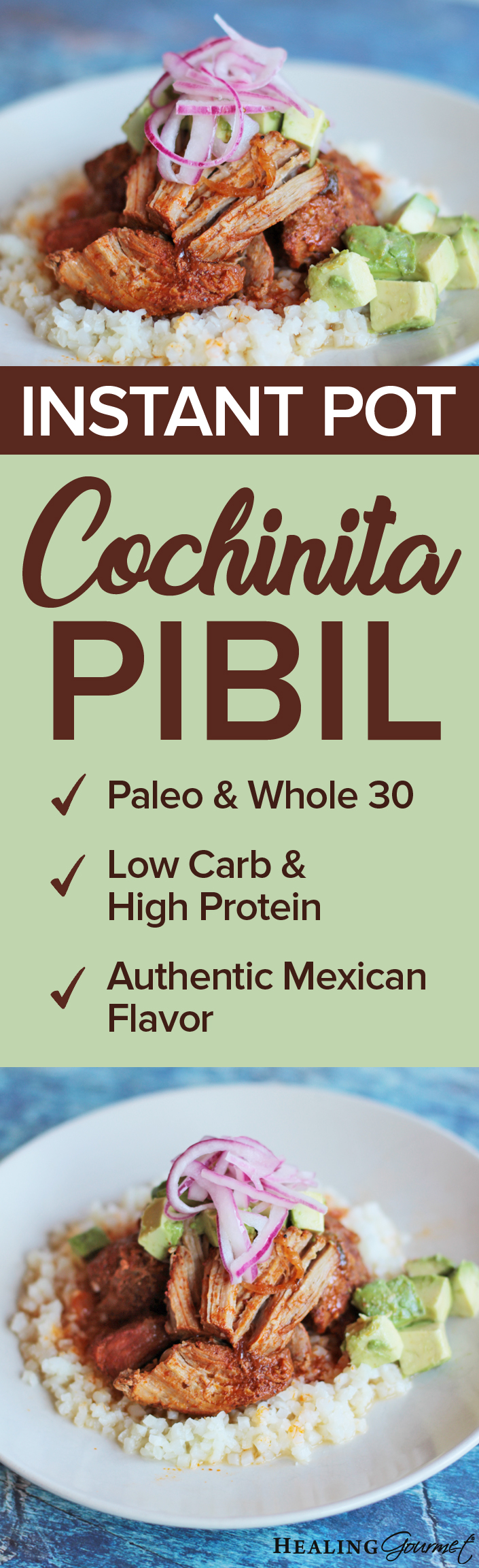 INSTANT POT COCHINITA PIBIL - PIN