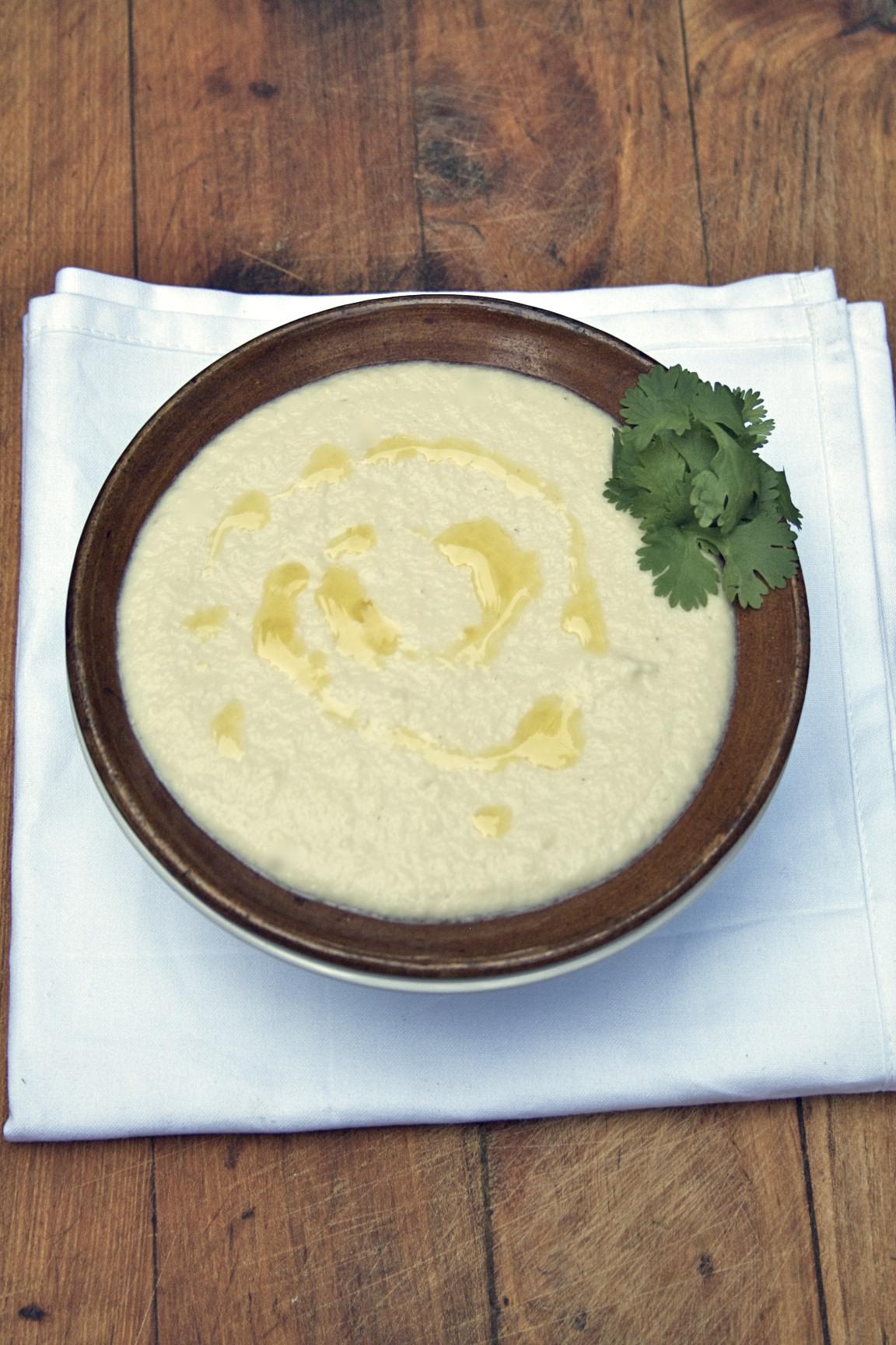Cauliflower Tahini Soup – High Vitamin C & Anti-Inflammatory