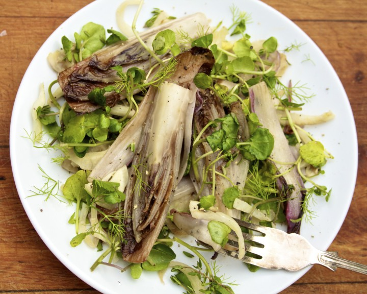 Braised Chicory Fennel Salad (anti-inflammatory)