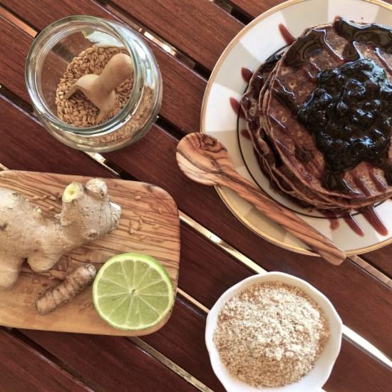 tigernut pancakes