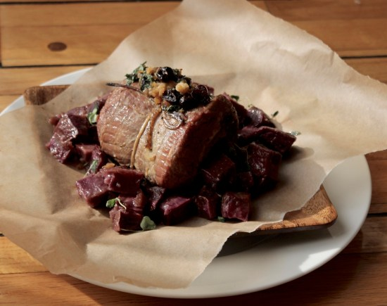 histamine intolerance christmas recipe beef on parchment paper