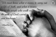 walking on the path of God's word copy