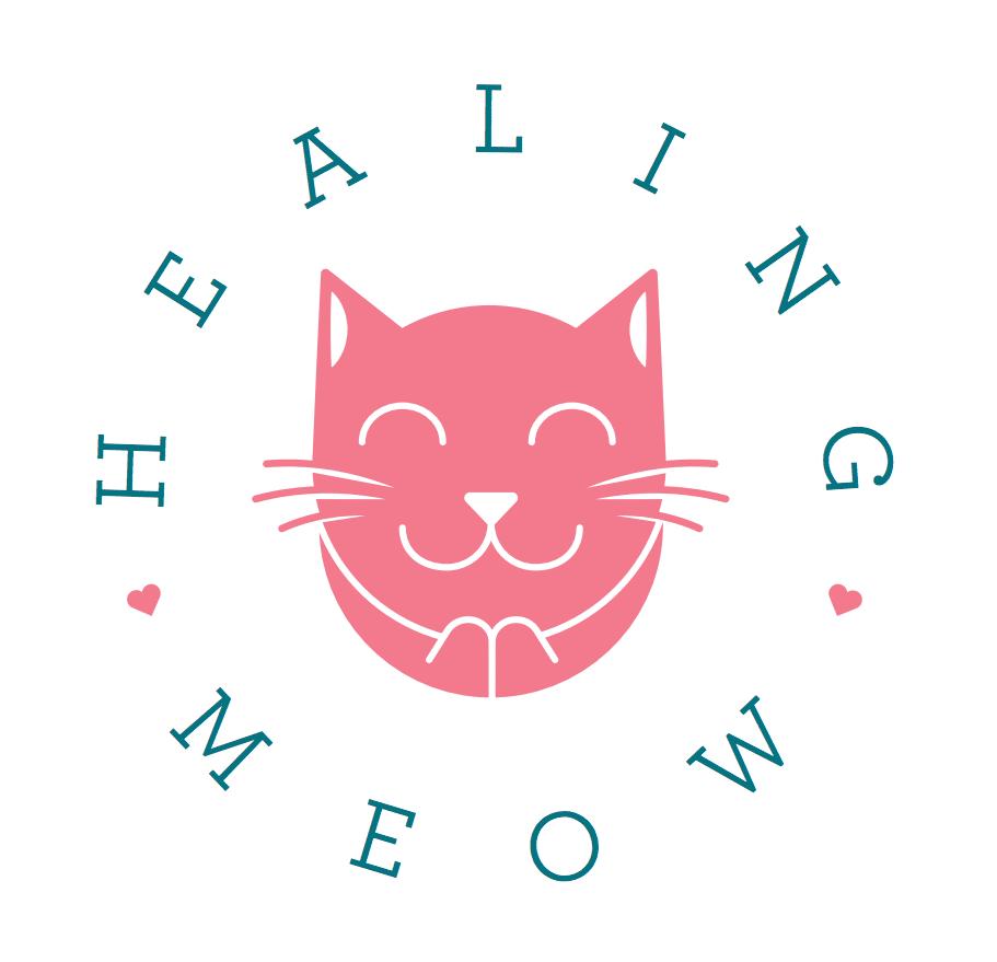 healing meow logo