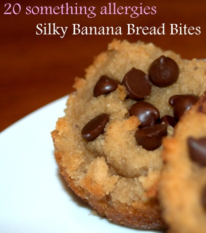 Silky Banana Bread Bites (allergen-free, GAPS legal, Paleo, Primal)