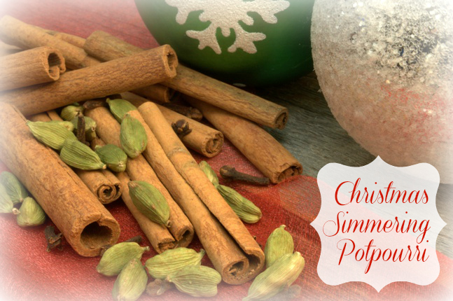 The Official Scent of Christmas: A Simmering Potpourri Recipe