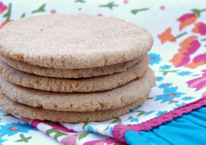 Coconut Chai Cookies (grain-free, egg-free)