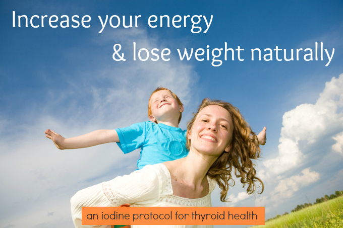 How to Lose Weight and Have More Energy: At-Home Iodine Protocol