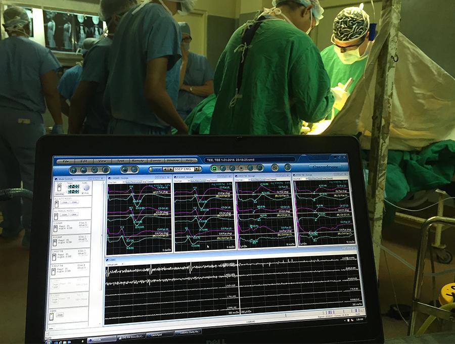 surgery monitor