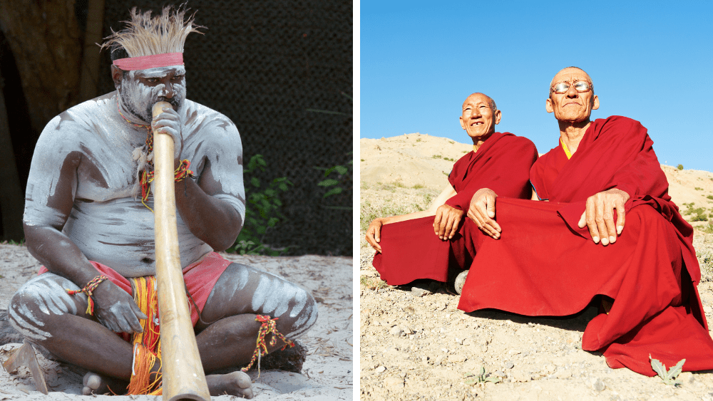 Are Shamans are Similar to Tibetans?