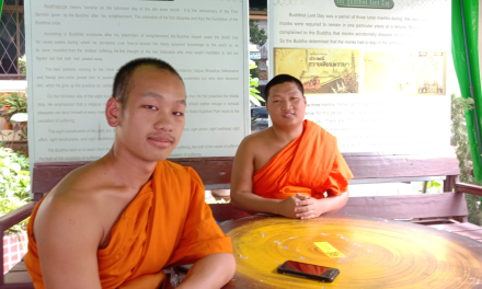 Buddhist Monk Chat | Chiang Mai