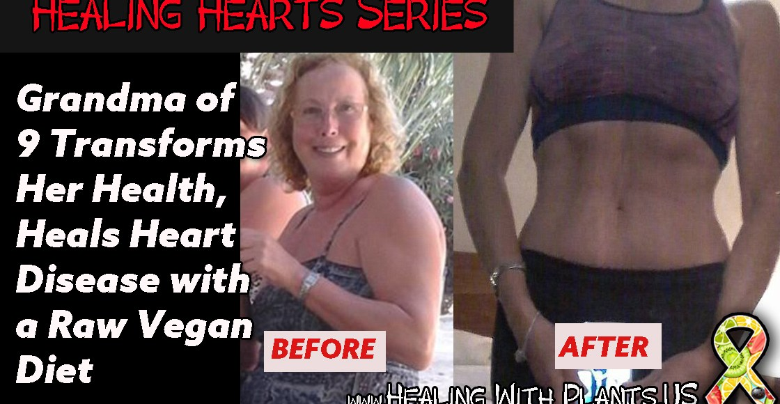 Grandmother of Nine Transforms Her Body, Heals Heart Disease with Raw Vegan Diet