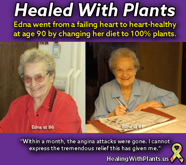 healing heart disease story Edna Roseberry