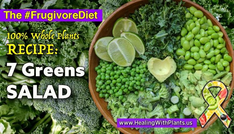 RECIPE: Seven Greens Salad