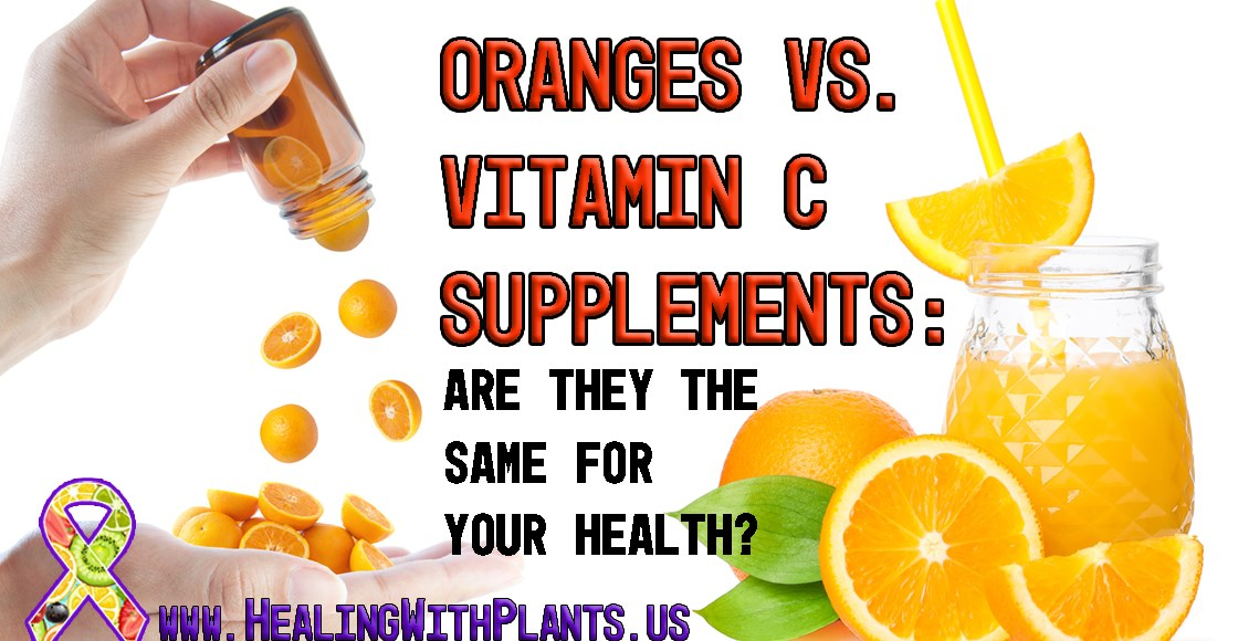 Does Eating Oranges and Taking Vitamin C Have the Same Health Benefits?